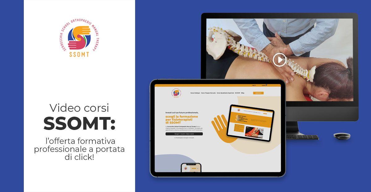 Fisioterapia offerta formativa online fisioterapisti SSOMT
