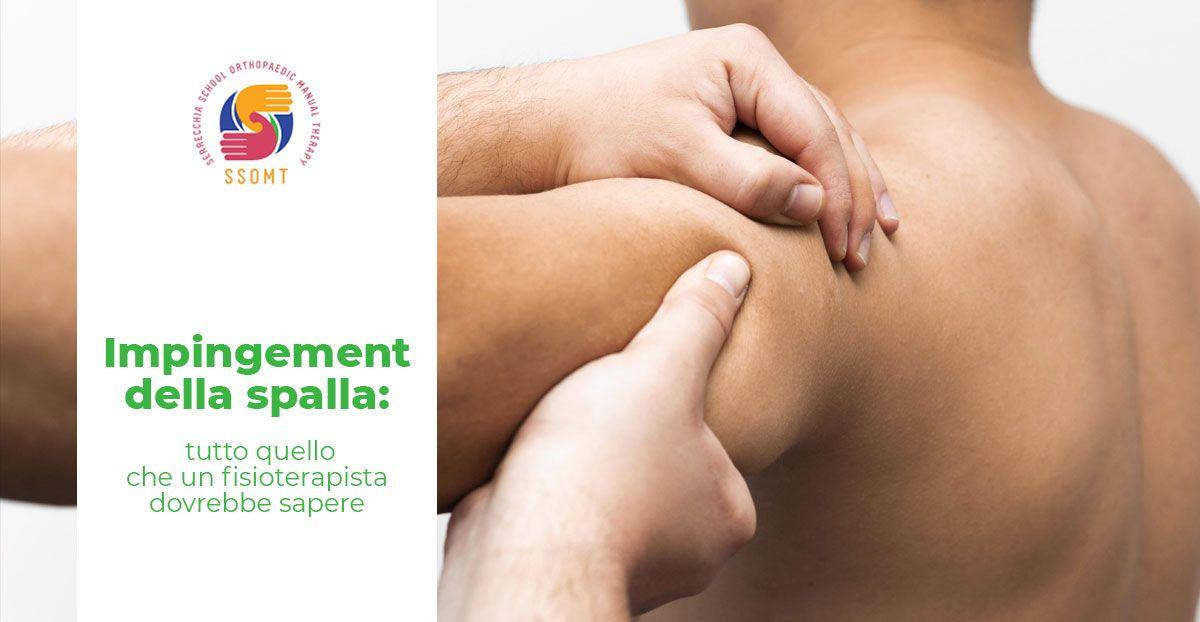 Impingement della spalla video corso fisioterapia SSOMT